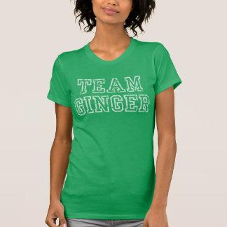 Camiseta El día del equipo de St Patrick lindo del jengibre