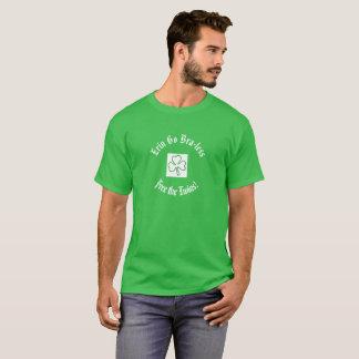 Camiseta ¡El día Erin de St Patrick va Sujetador-menos
