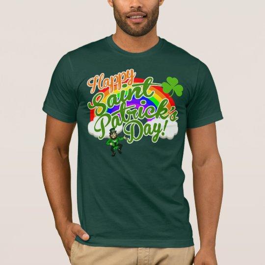 Camiseta El día feliz clásico de San Patricio