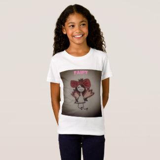 Camiseta El dibujo de hadas del niño
