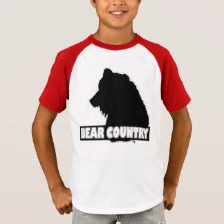 Camiseta El diseñador animal del oso embroma venta de la