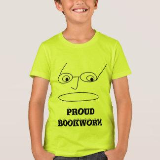 Camiseta El diseño ORGULLOSO del RATÓN DE BIBLIOTECA