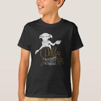 Camiseta El Dobby de Harry Potter el | no tiene ningún amo