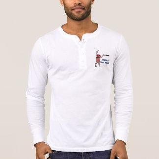 Camiseta El doble chistoso de la Tener-Haba del tenis echó