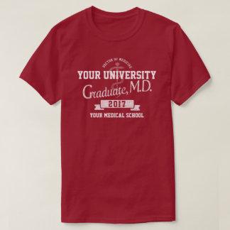 Camiseta El doctor Graduate Graduation T-Shirt de la