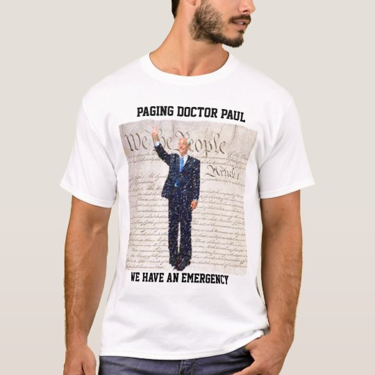Camiseta El doctor Paul de la paginación