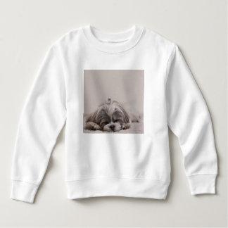 Camiseta el dormir del tzu de Shih, perro el