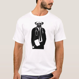 Camiseta El Dr. Pug