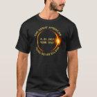 Camiseta El eclipse solar total 8.21.2017 los E.E.U.U.