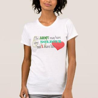 Camiseta El ejército puede tener mi soldado