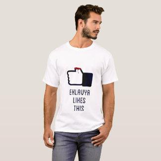 Camiseta el eklavya tiene gusto de esto