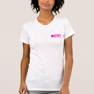 Camiseta El equipo de las mujeres rosadas de EMT