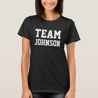 Camiseta El EQUIPO Johnson lo personaliza