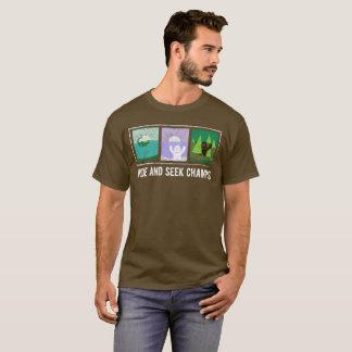 Camiseta El escondite defiende el pie grande, Yeti, Nessie