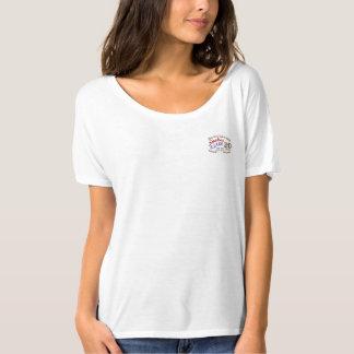 Camiseta El escote redondo de 2016 mujeres de las