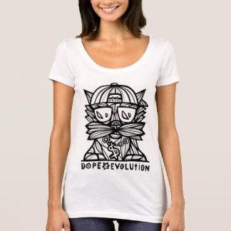 """Camiseta """"El escote redondo de las mujeres de la evolución"""
