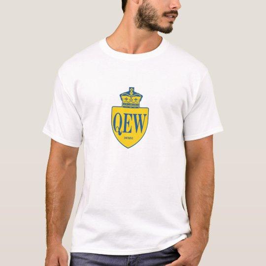 Camiseta El escudo de la manera de la reina Elizabeth