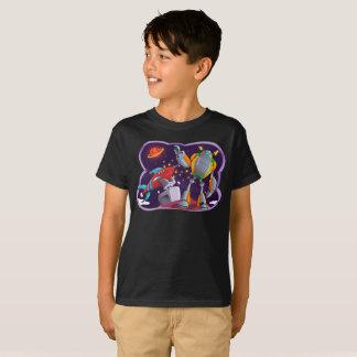 Camiseta El espacio galáctico del universo de los robots de