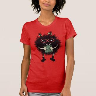 Camiseta El estudiante malvado del insecto del empollón ama