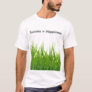 Camiseta El éxito es felicidad