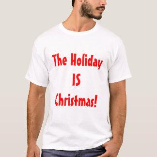 Camiseta ¡El FAVORABLE navidad/el día de fiesta ES navidad!