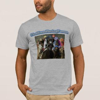 Camiseta El foro de la carrera de caballos