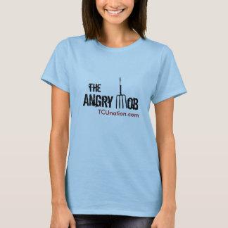 Camiseta El frente enojado de la multitud para mujer