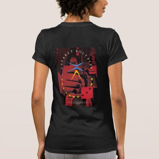 Camiseta El frente y la parte posterior de la medida