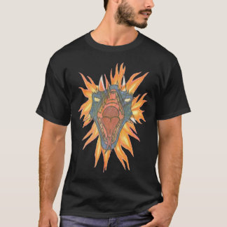 Camiseta El fuego del dragón