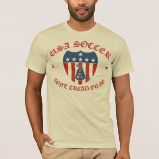 Camiseta El fútbol de los E.E.U.U. no pisa en mí la