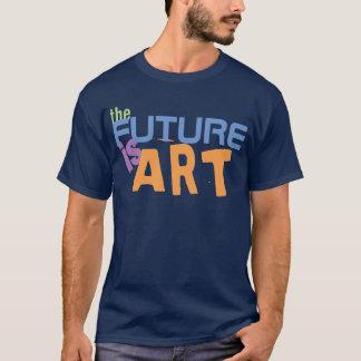 Camiseta El futuro es artistas del indie del arte