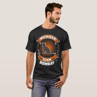 Camiseta El gato de Bombay del miembro de equipo acaricia