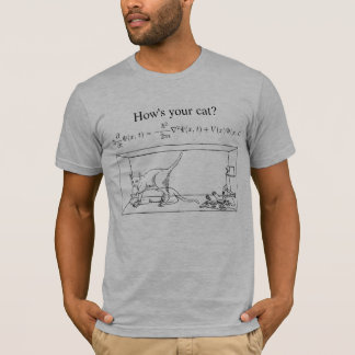 Camiseta El gato de Schrödinger