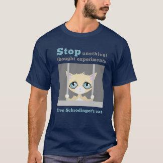 Camiseta El gato de Schrodinger libre