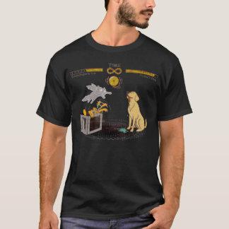 Camiseta El gato de Schrodinger y el perro de Pavlov
