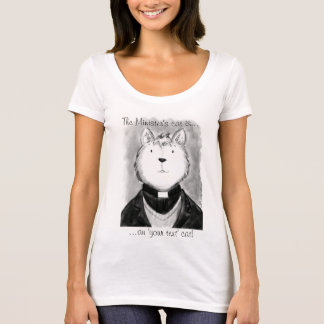 Camiseta ¡El gato del ministro!