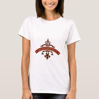 Camiseta el ghandi dice se relaja
