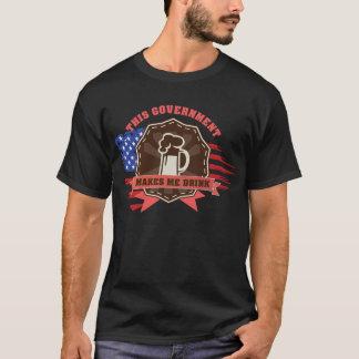 Camiseta El gobierno hace que bebe