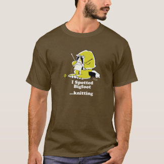 Camiseta El hacer punto de Bigfoot