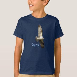 Camiseta El halcón de pescados de elevación de Osprey