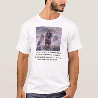Camiseta El héroe William Wallace de Escocia