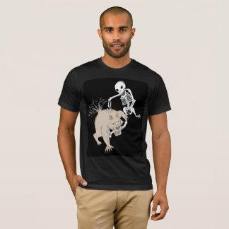 Camiseta El hombre lobo encuentra un hueso