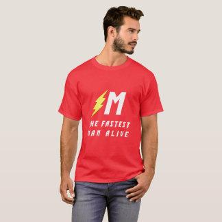 Camiseta El hombre más rápido vivo