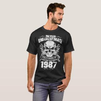 CAMISETA EL HOMBRE NACIÓ EN 1987