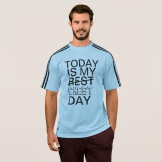 Camiseta El HOY ES hilos divertidos de la aptitud de la