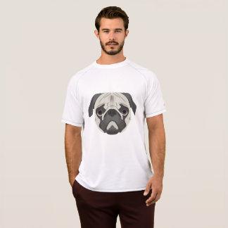 Camiseta El ilustracion persigue barro amasado de la cara