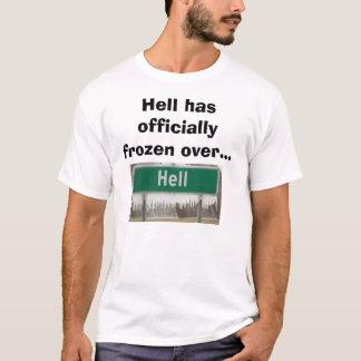 Camiseta El infierno congela sobre la despedida de soltero