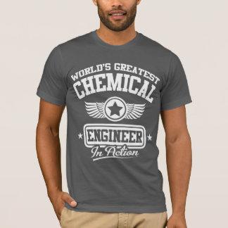 Camiseta El ingeniero químico más grande del mundo en la