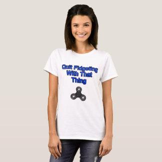 Camiseta El inquietar abandonado con esa cosa