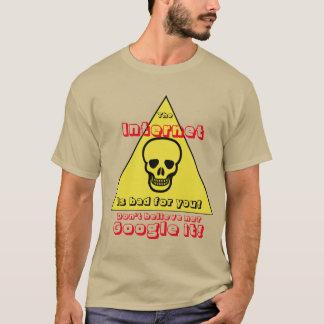 Camiseta El Internet es malo